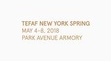 Contemporary art art fair, TEFAF New York Spring 2018 at Ben Brown Fine Arts, London, United Kingdom
