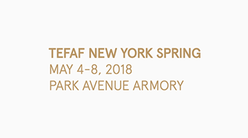 Contemporary art exhibition, TEFAF New York Spring 2018 at Perrotin, New York, USA