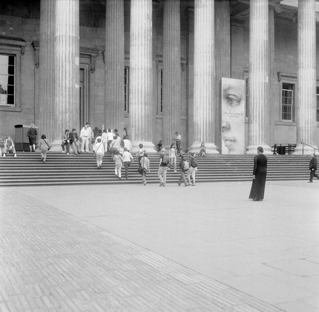 The British Museum by Carrie Mae Weems contemporary artwork