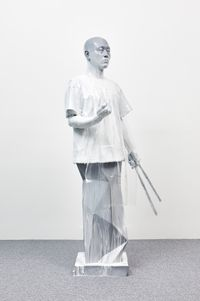 The Sculptor by Haneyl Choi contemporary artwork sculpture