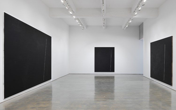 André Butzer. Exhibition view, 2017. Metro Pictures, New York.Courtesy of the artist and Metro Pictures, New York Photo: Genevieve Hanson