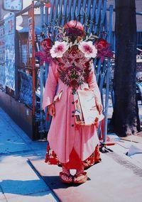 Scarlet by Asami Kiyokawa contemporary artwork mixed media, textile, textile