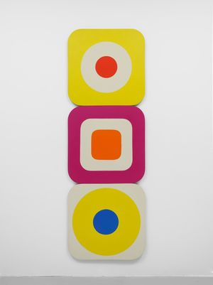 Circle in the Square by Leon Polk Smith contemporary artwork