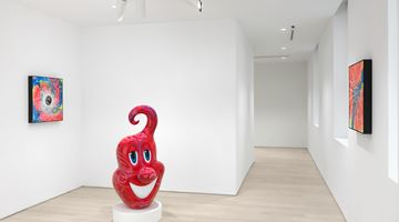 Contemporary art exhibition, Kenny Scharf, DystopianPainting at Almine Rech, New York