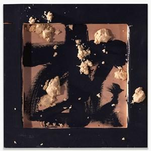 Quadrat negre amb matèria by Antoni Tàpies contemporary artwork