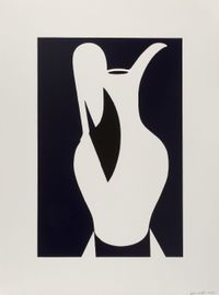 Large White Jug by Patrick Caulfield contemporary artwork print
