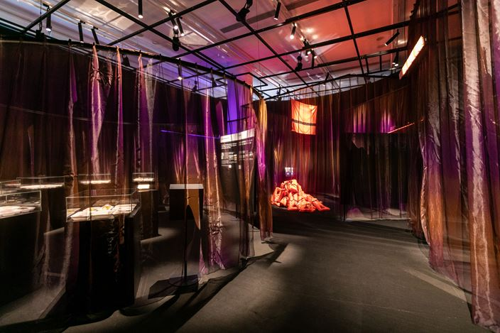 Exhibition view: Design Does - For better and for worse, HKDI Gallery, Hong Kong (6 November–10 January 2021). Courtesy HKDI Gallery.