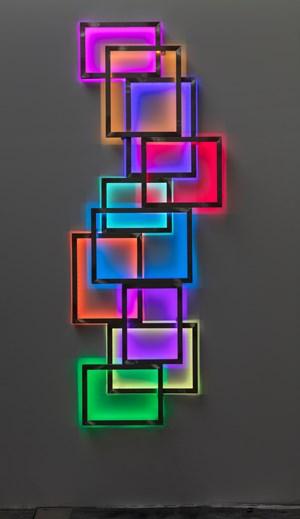 Glowstick 5 by David Batchelor contemporary artwork