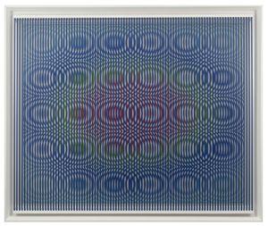 Pioggia Arcobaleno by Alberto Biasi contemporary artwork