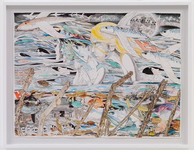 A head wind by Koichi Enomoto contemporary artwork