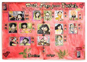 Never Say Goodbye by Jagdeep Raina contemporary artwork works on paper, mixed media