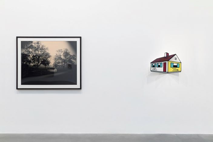 Exhibition view: Group Exhibition, American Pastoral, Gagosian, Britannia Street, London (23 January–14 March 2020). Artwork, left to right: © Sally Mann, © Estate of Roy Lichtenstein/DACS 2020. Courtesy Gagosian. Photo: Lucy Dawkins.