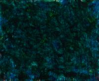 Green by Norman Bluhm contemporary artwork painting
