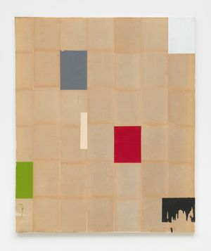 Dirty Mondrian #1 by Brenna Youngblood contemporary artwork