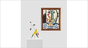 Contemporary art exhibition, Alexander Calder, Pablo Picasso, Calder and Picasso at Almine Rech, New York, USA