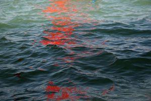Riflessi (Red Regatta - 1 September 2019) - 3 by Melissa McGill contemporary artwork photography, print