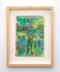 Untitled (Green Haze) by Séraphine Pick contemporary artwork painting