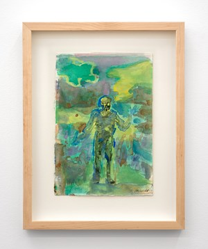 Untitled (Green Haze) by Seraphine Pick contemporary artwork