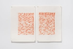 Tawq al-Hamamah (The ring of the dove) Pages 1&2 by Nicène Kossentini contemporary artwork