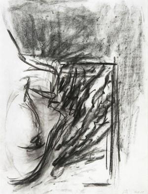 Sans titre (Mon père se penchant par la fenêtre) by Georg Baselitz contemporary artwork
