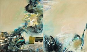 Abstract by Chuang Che contemporary artwork