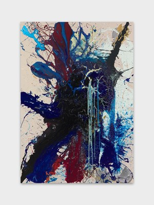 Côté est by John M Armleder contemporary artwork