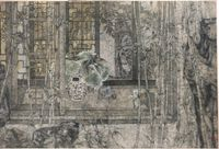 Aura of the Literati by Zheng Li contemporary artwork works on paper
