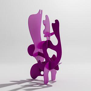 Tulipingua by Misha Milovanovich contemporary artwork