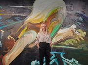 Clare Woods: 'a lot of my work is about two extremes coming together'