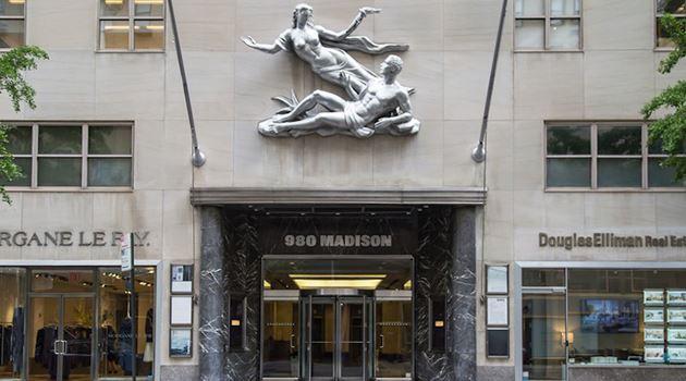 Gagosian contemporary art gallery in 980 Madison Avenue, New York, USA