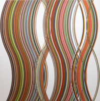 Executive Orders 13769 and 13780 by Helen Smith contemporary artwork painting, works on paper