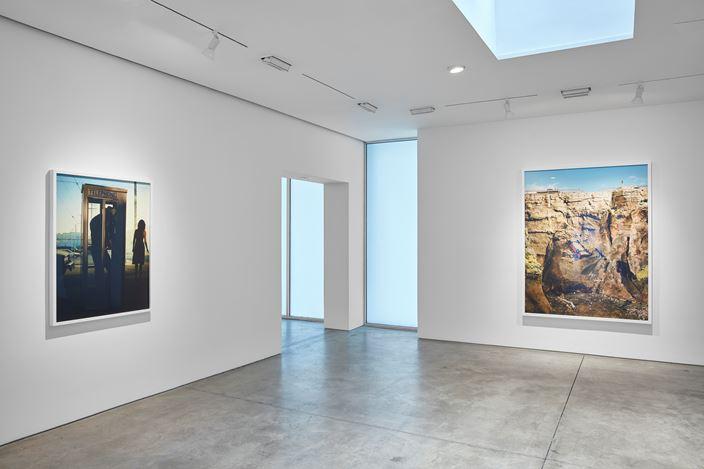 Exhibition view: Alex Prager,Play the Wind, Lehmann Maupin, 536 West 22ndStreet, New York (5 September—26 October 2019). Courtesy the artist and Lehmann Maupin, New York, Hong Kong, and Seoul. Photo: Matthew Herrmann.