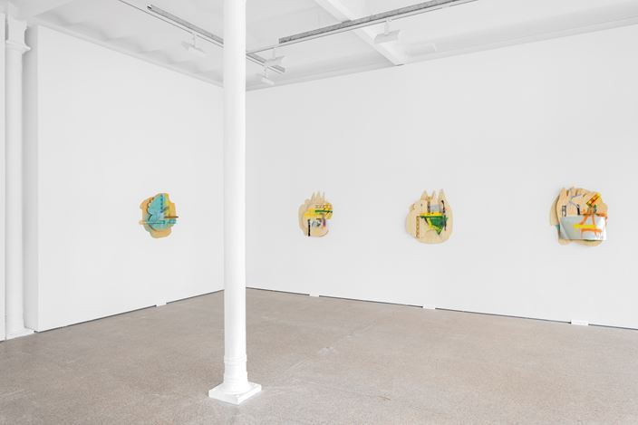 Exhibition view: Richard Tuttle, Stories I - XX, Galerie Greta Meert, Brussels (29 October 2020–16 January 2021). Courtesy Galerie Greta Meert.