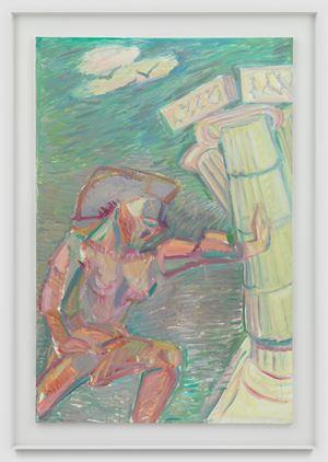 Samson by Maria Lassnig contemporary artwork