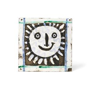 Visage solaire IV by Pablo Picasso contemporary artwork
