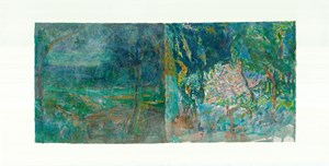 To Bonnard, Set One 3 by Qi Lan contemporary artwork