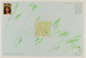 Desenho - Espaços Imantados, Registro Cinematográfico (Drawing - Magnetized Spaces, Cinematographic Study) by Lygia Pape contemporary artwork
