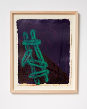 Ladder and Step Series #36 by Basil Beattie contemporary artwork