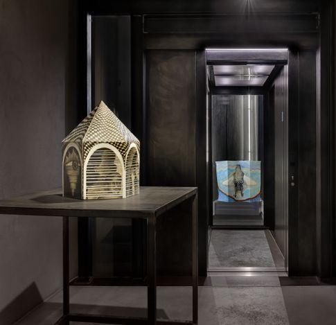 Exhibition view: Sandra Vásquez de la Horra, Room #5, Kewenig, Berlin, 2021 © the artist. Courtesy Kewenig. Photo: Lepkowski Studios Berlin.