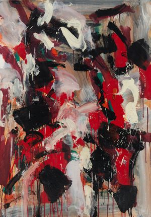 Composition by Jean-Paul Riopelle contemporary artwork