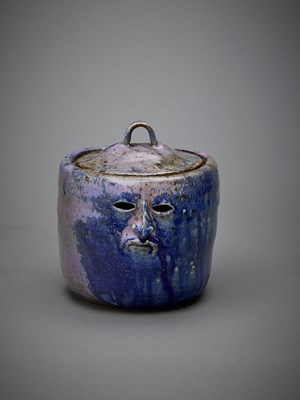 Purple Laurie Pot by Francis Upritchard contemporary artwork