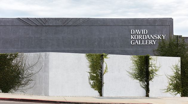 David Kordansky Gallery contemporary art gallery in Los Angeles, USA