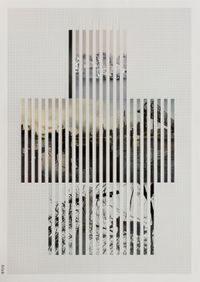 Discrete Model Number 024 by Goshka Macuga contemporary artwork mixed media