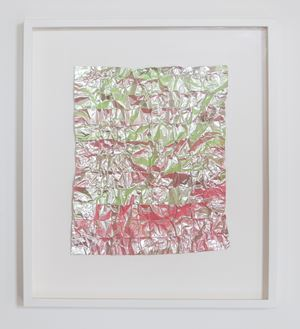 No. 931 Folded Grid by Rana Begum contemporary artwork