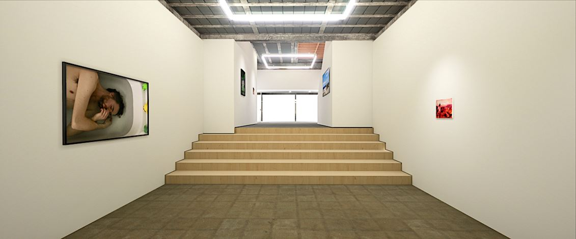 Exhibition view: Group Exhibition, Transmission, Workplace, Gateshead (17 July–5 September 2020). Courtesy WORKPLACE.