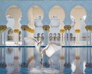 The Way of Ishq, Grand Mosque, Abu Dhabi by Karen Knorr contemporary artwork