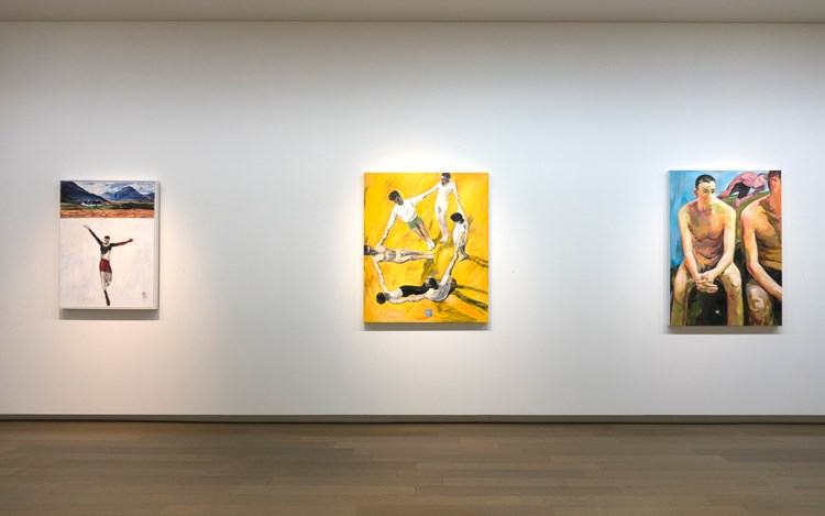 Exhibition view: Group Exhibition,HSIA Yan and His Times 夏陽的時代, Eslite Gallery, Taipei (4 August–26 August 2018). Courtesy Eslite Gallery.