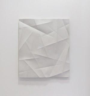 Faltenguss No. 3/18 by Beat Zoderer contemporary artwork