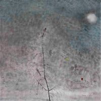 Winter Star 一颗寒星 by Shen Ling contemporary artwork painting