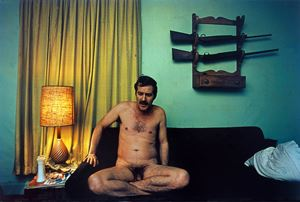 UNTITLED (NAKED T.C. ON COUCH) GREENWOOD, MS [FROM DUST BELLS 2] by William Eggleston contemporary artwork